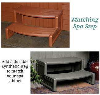Matching Spa Steps