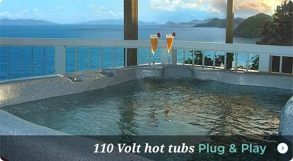 110 Volt Hot Tubs Plug and Play