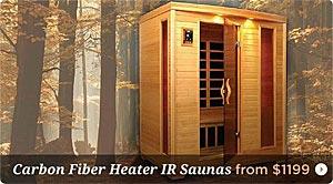 Carbon Fiber Infrared Saunas